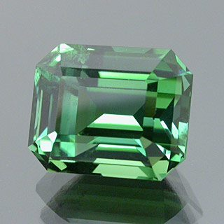 Emerald Cut Namibian Tourmaline