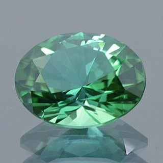 Brilliant Oval Cut Namibian Tourmaline, Namibia, 0.89 cts