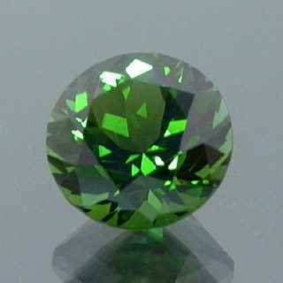 Modified Round Brilliant Cut Tourmaline, Mozambique, 0.95 cts