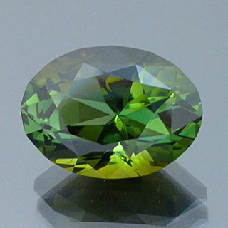 Fancy Brilliant Oval Cut Tourmaline, Nigeria, 5.51 cts