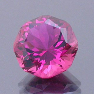 Fancy Cut Cornered Octagon Cut Tourmaline