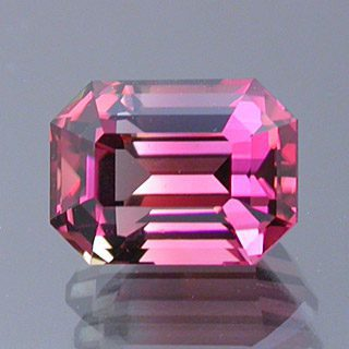 Emerald Cut Bi-Color Tourmaline