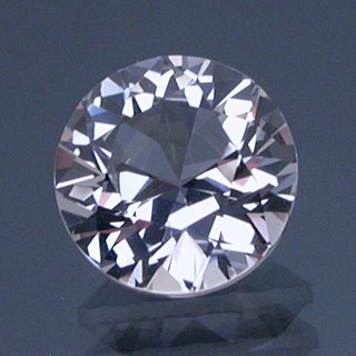 Round Brilliant Cut Topaz, Pakistan, 2.08 cts