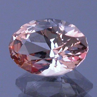 Fancy Brilliant Oval Cut Precious Topaz, Topaz Mountain, Utah, U.S.A., 1.11 cts