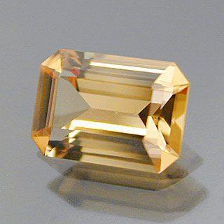 Emerald Cut Cut Precious Topaz, Ouro Preto, Brazil, 0.73 cts