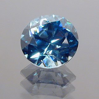 Round Brilliant Cut Zircon, Not Sure – Probably Cambodia, 1.88 cts