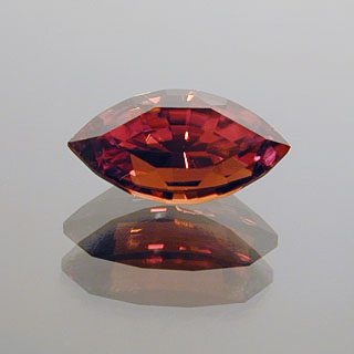 Custom Step-cut Marquise Cut Zircon, Not Sure – Probably Africa, 1.18 cts