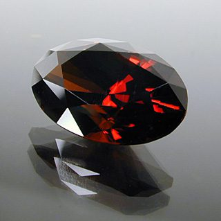 Brilliant Oval with Supernova Crown Cut Zircon, Not Sure – Probably Africa, 6.00 cts