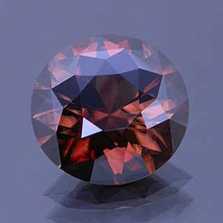 Modified Round Brilliant Cut Zircon, Nigeria, 4.24 cts