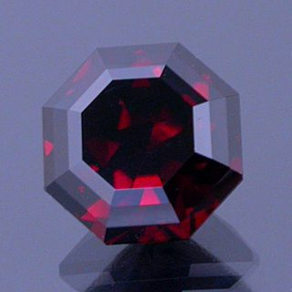 Fancy Barion Octagon Cut Zircon