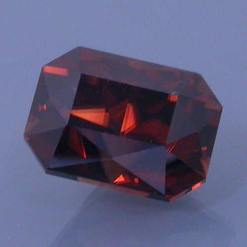 Brilliant Emerald Cut Zircon, Nigeria, 2.16 cts
