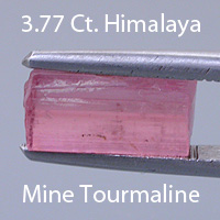 Step Radiant Baguette Cut Tourmaline, Himalaya Mine, California, U.S.A., 1.34 cts