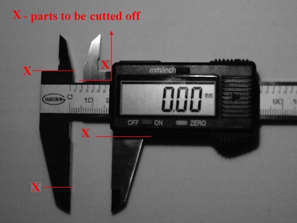 measuring OTL RI gems - caliper alteration
