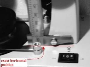 Figure 4 - Measuring a Gemstone  RI above 1.81