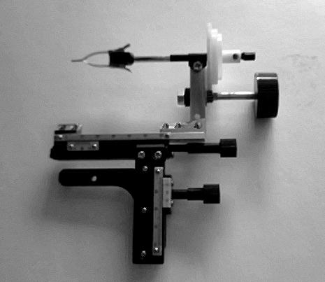 The multipurpose microscope stage.