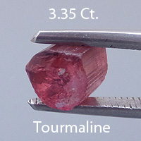 Asscher Cut Tourmaline, Himalaya Mine, California, U.S.A., 1.16 cts