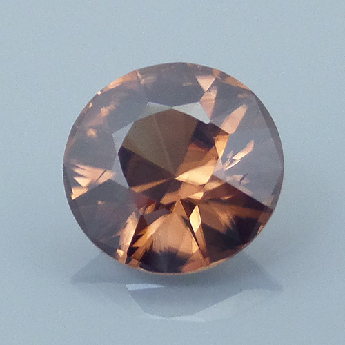 Finished version of Ultra Brilliant Cut Zircon