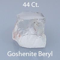 Asscher Style Square Emerald Cut Goshenite Beryl, Nigeria, 11.70 cts