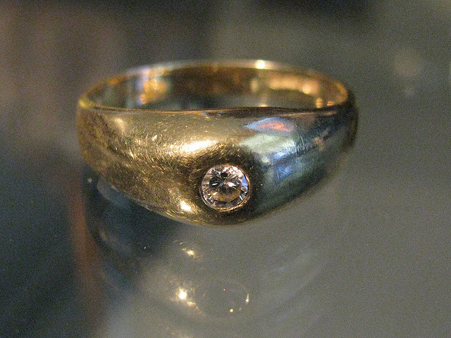 gem rings - pinky ring