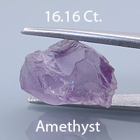 Barion Square Cut Amethyst, Brazil, 3.84 cts
