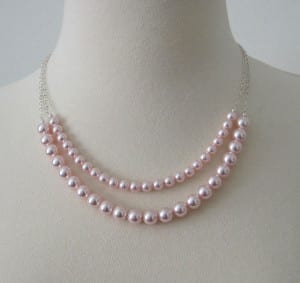 rosaline pearl necklace - opal and pearl care guide