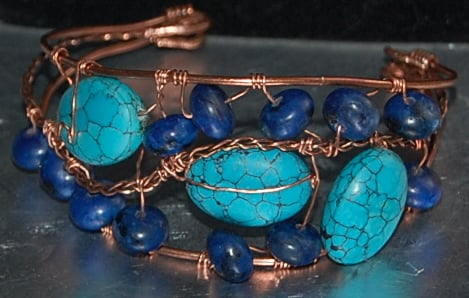 December birthstone - traditional turquoise