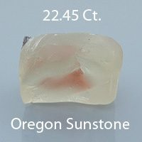 Fancy Brilliant Square Cut Sunstone, Oregon, U.S.A., 3.15 cts