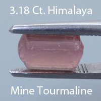 Emerald Cut Tourmaline, Himalaya Mine, California, U.S.A., 1.62 cts