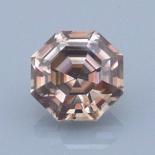 Asscher Style Octagon Cut Zircon, Nigeria, 2.36 cts