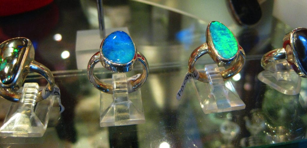 opal rings - opal and pearl care guide