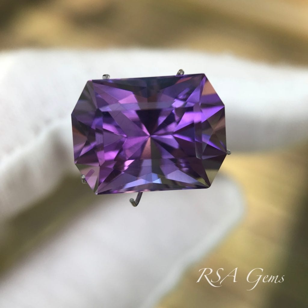 amethyst - color grades - gem price guide