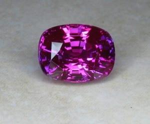 Purplish Pink Oval Sapphire