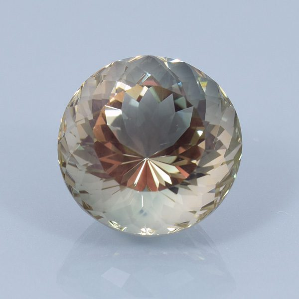 Portuguese-cut Oregon sunstone - gem price guide