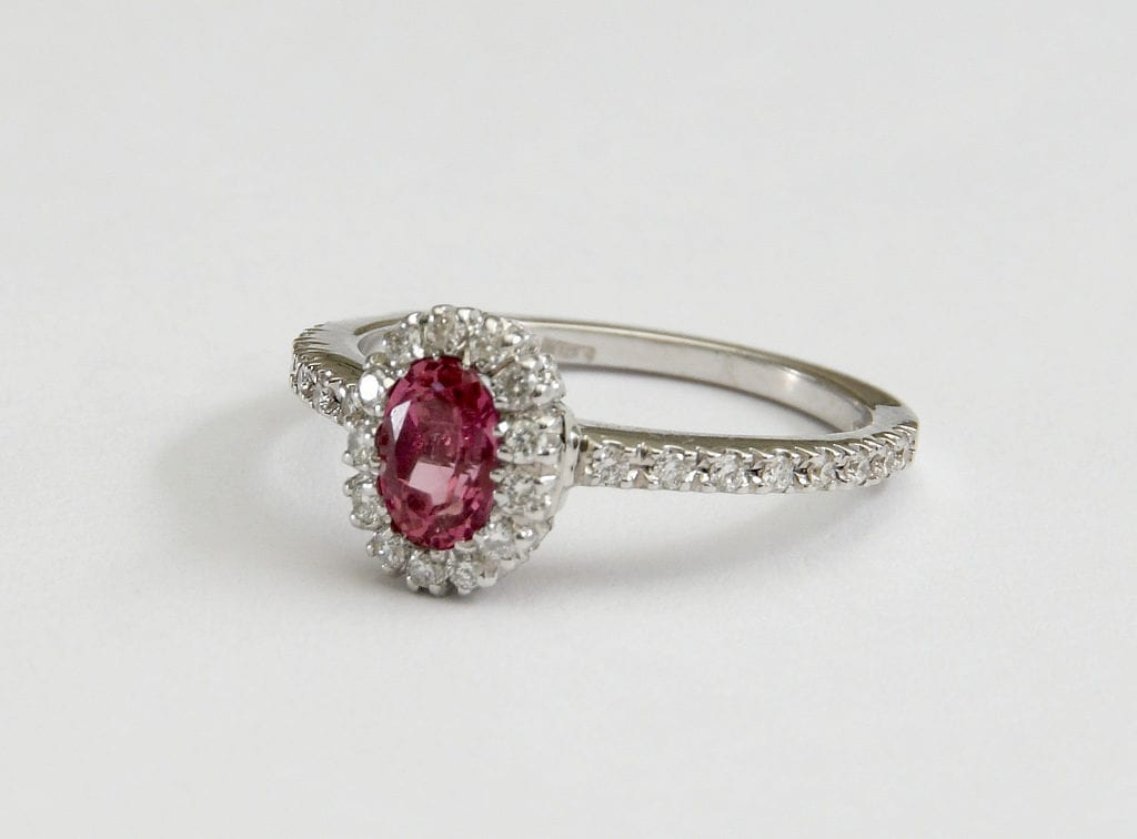 tourmaline - colored gemstone engagement rings