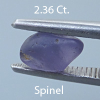 Rough version of Fankcy Round Brilliant Cut Spinel