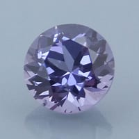 Finished version of Fancy Round Brilliant Cut Spinel