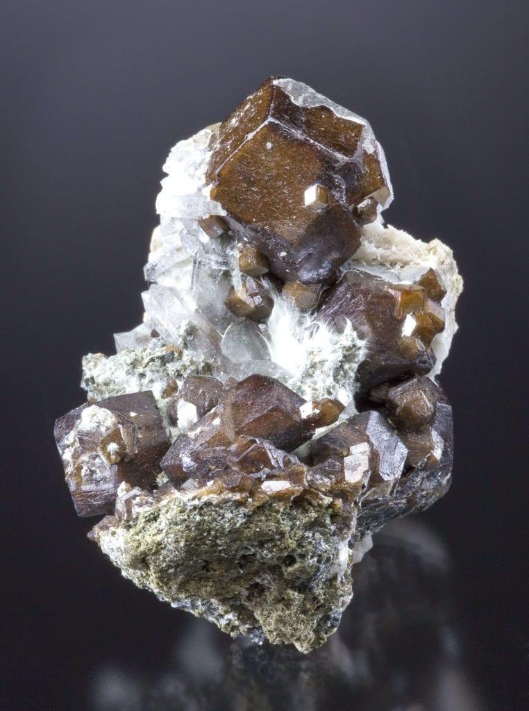 andradite crystals - Peru