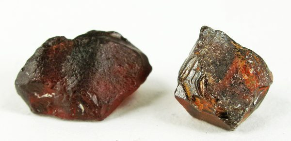 rhodolite garnet crystals - Kenya