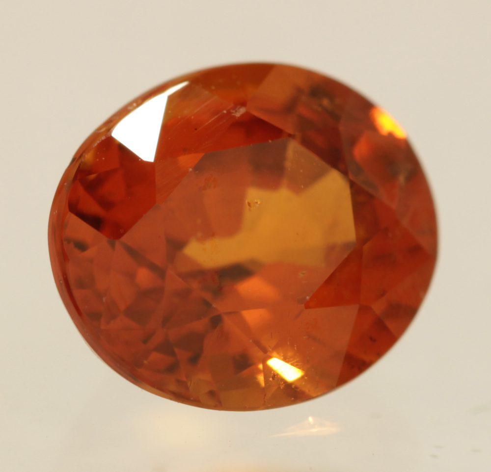 mandarin spessartite garnet - Nigeria