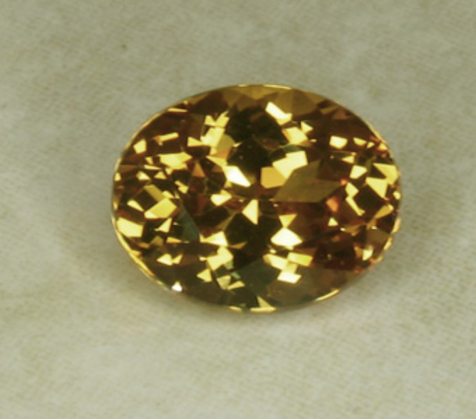Yellowish Malaia Garnet