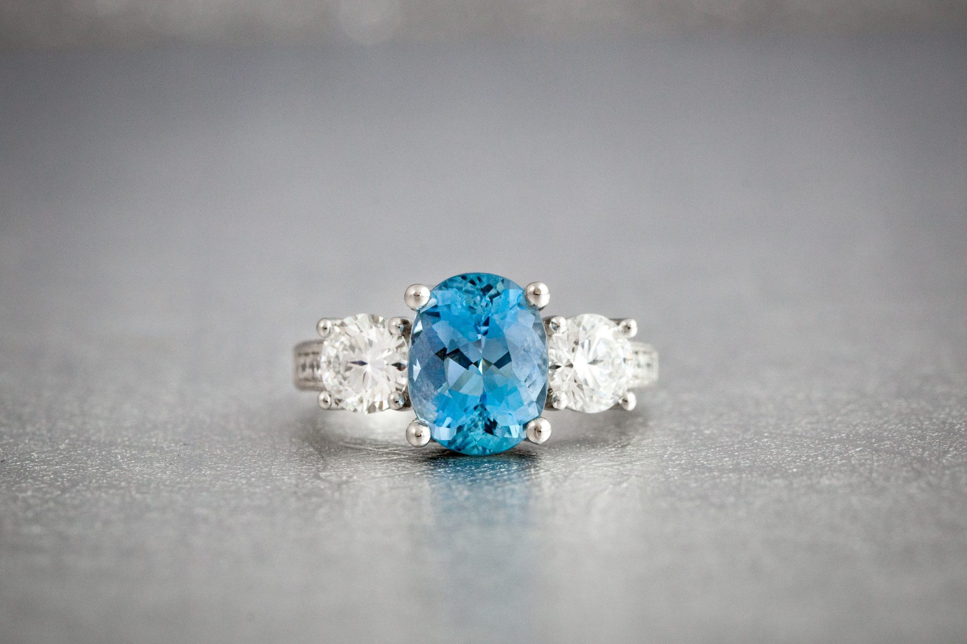 coast spinel engagement dark blue rings platinum product diamond and ring