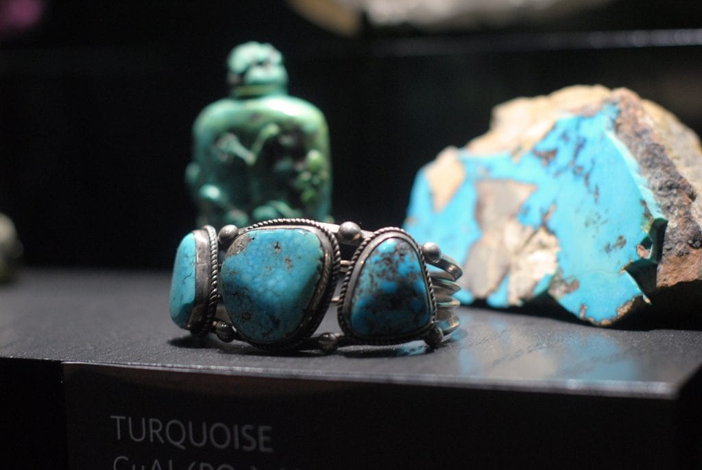 Turquoise display