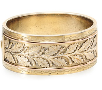 Wide Bangle Bracelet - Grand Period jewelry