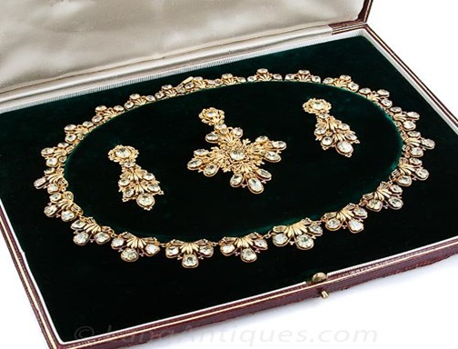 Parure - Georgian jewelry