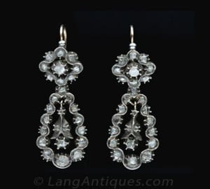 Pendeloque Earrings