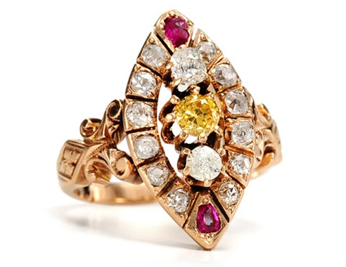 Ring - Aesthetic Period jewelry