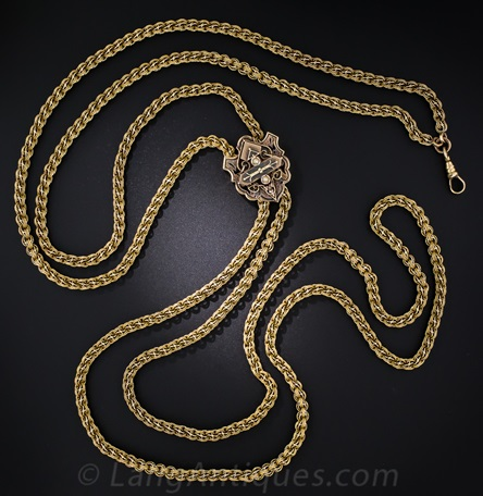 Slide Chain - Victorian Period jewelry
