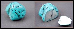 Howlite - turquoise simulant