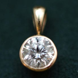 diamond pendant - diamond quality grading guidelines