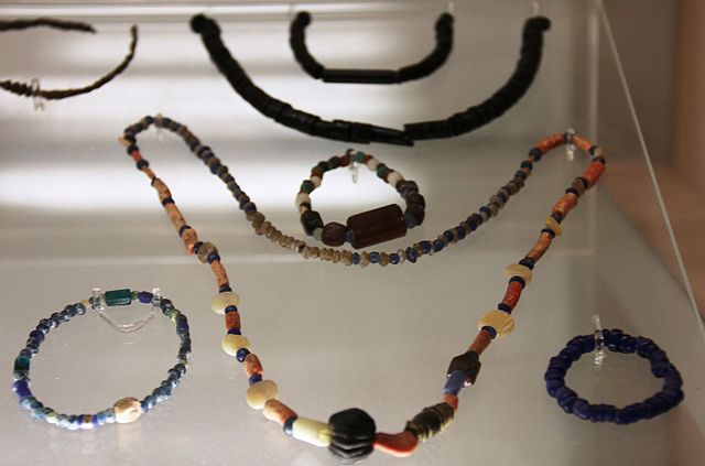 gemstone personality - ancient beads